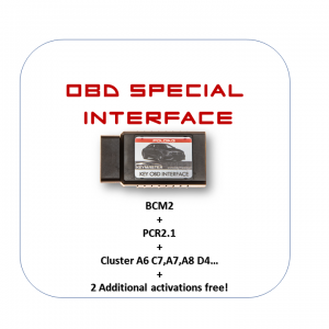 OBD Special Interface + BCM2 + PCR2.1 + Dash A6 C7+ 2 activations more for FREE !!!!